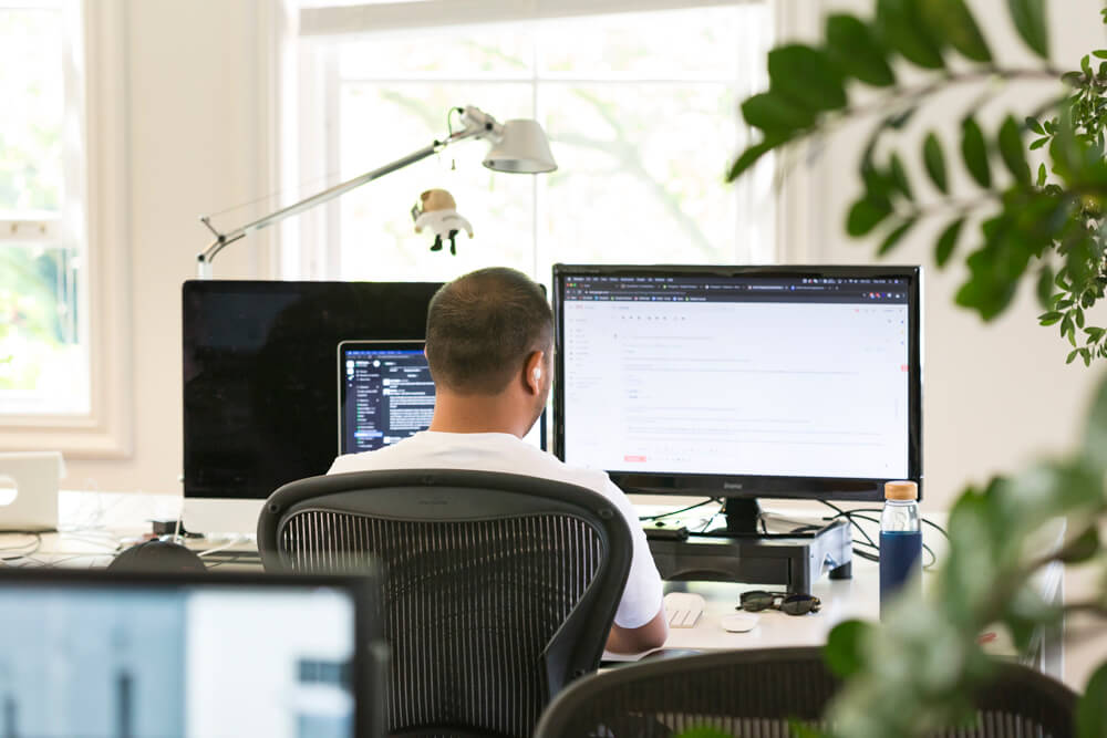 Working at the office | Code