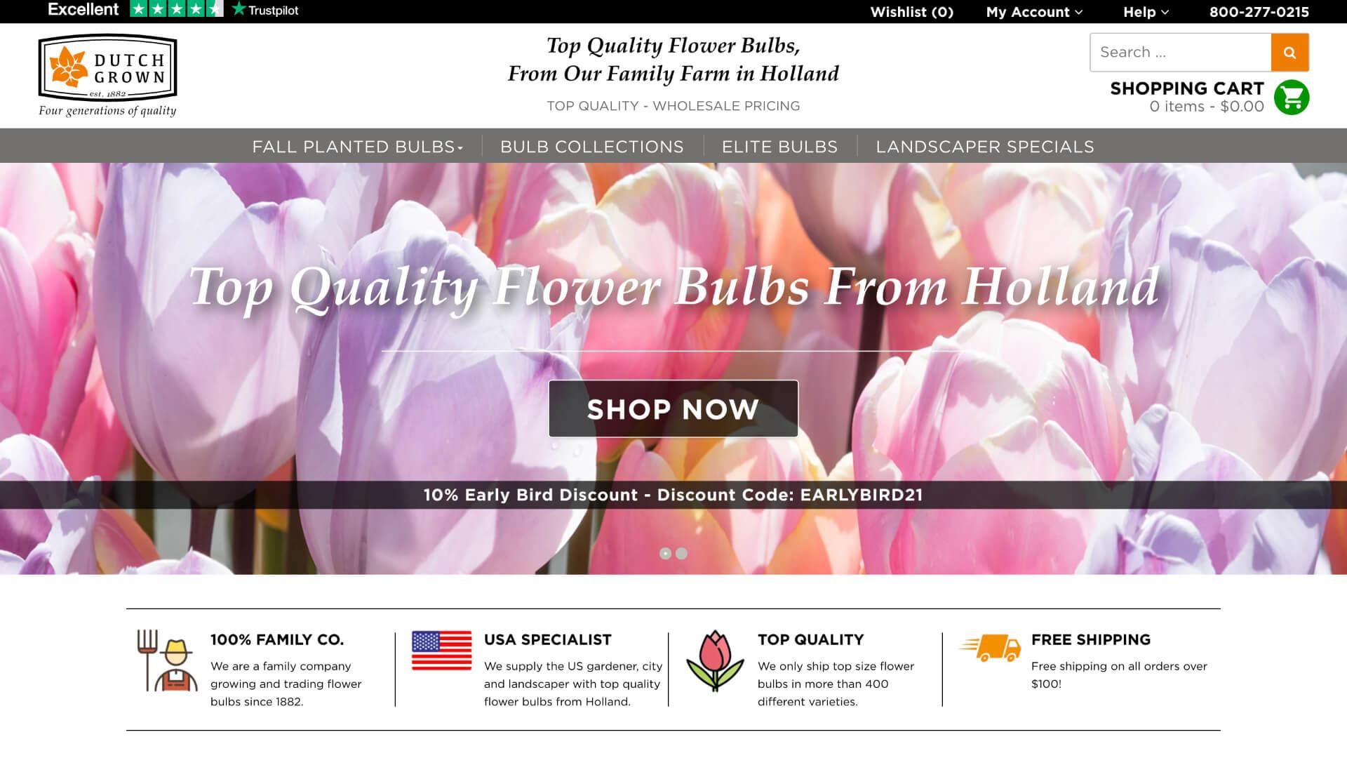 Case: Dutchgrown naar Shopify Plus