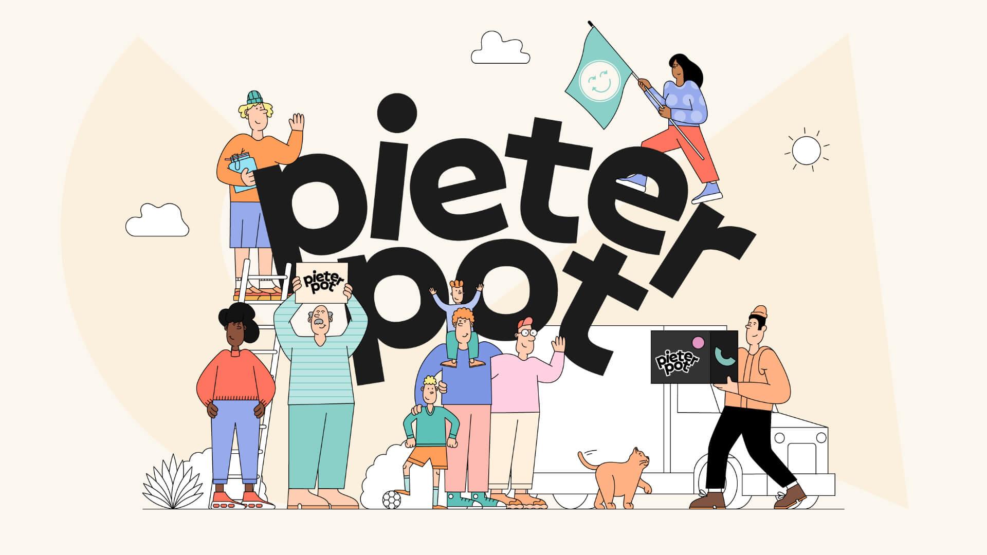 Pieter Pot illustratie | Code